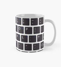 PC Computer Keyboard Buttons Design Mug