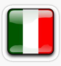 Italian Flag, Italy Icon Sticker