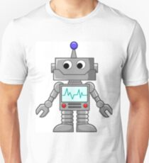 Robot Life Signs Unisex T-Shirt