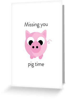 «Perdiendo tu tiempo de cerdo» de catcreations