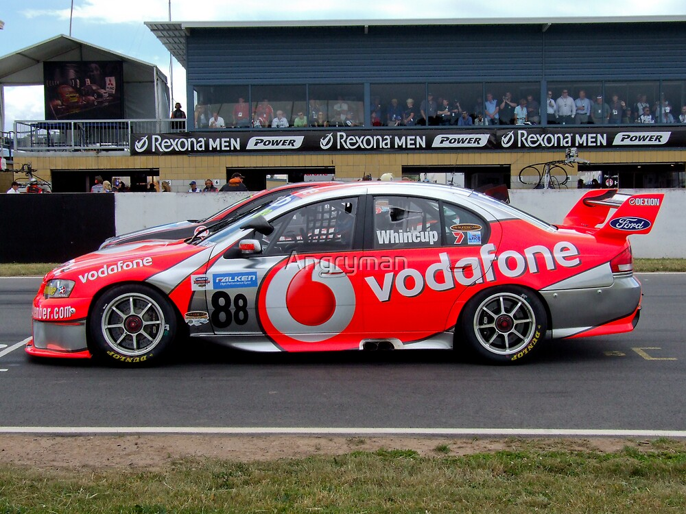 Whincup on pole by Angryman