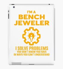 BENCH JEWELER - NICE DESIGN 2017 iPad Case/Skin