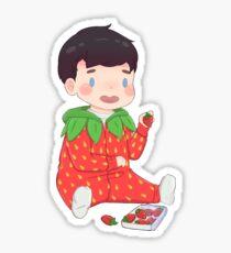 Phil Strawberry Sticker