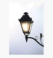 Retro street lamp Photographic Print
