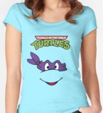 Donatello Women's Fitted Scoop T-Shirt