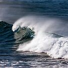 Big Surf, Great Ocean Road, Australia by John Gaffen