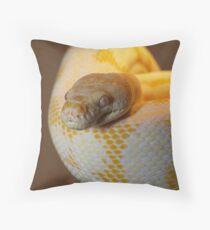 Albino Darwin Carpet Throw Pillow