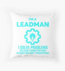 LEADMAN - NICE DESIGN 2017 Throw Pillow