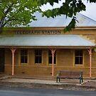 Beechworth Telegraph Station by Stuart Row