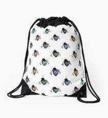Fancy Claptrap Rainbow Drawstring Bag