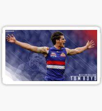 Tom Boyd - AFL Design  Sticker