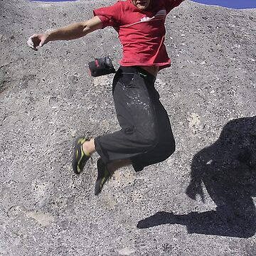 Falling climber by grazgar