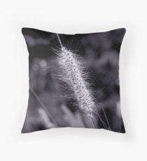 Grass Seed Sunshine Throw Pillow