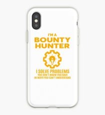 BOUNTY HUNTER - NICE DESIGN 2017 iPhone-Hülle & Cover