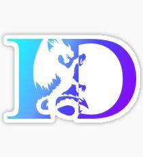 Imagine Dragons Re-Designed Logo Sticker