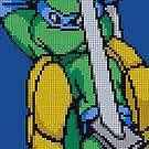TMNT Leo, Pixel Arcade Edition by horatiohayden