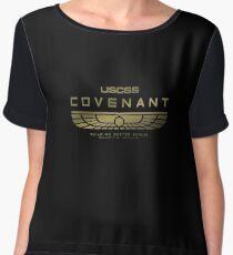 Alien Covenant Gold Women's Chiffon Top