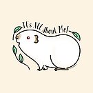 It's All About Me! Himalayan Guinea pig by zoel