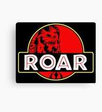 Roar Park funny tv show movie parody old classic  Canvas Print