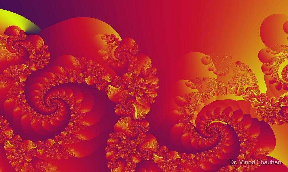 Floral Evolution 003.27.1.g4-280 by Dr. Vinod Chauhan