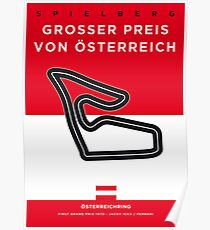 My F1 Osterreichring Race Track Minimal Poster.jpg Poster
