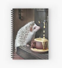 """""""wake up dear your coffee is ready"""" Spiral Notebook"""
