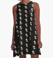 Lonely jellyfish A-Line Dress