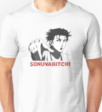 Steins Gate Okabe - Sonuvabitch (Son of a b*tch) Unisex T-Shirt