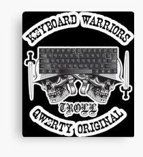 Keyboard Warriors – TROLL Canvas Print