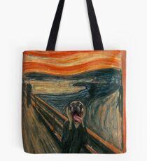 Wailing Pug Tote Bag