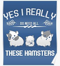 All that I need is my hamsters Poster