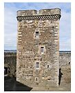 Blackness Castle ( Fort William in Outlander ) Scotland by David Rankin