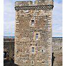 Blackness Castle ( Fort William in Outlander ) Scotland by David Rankin