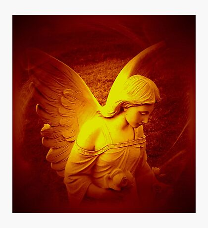 An Angel Spreading Love, Peace and Joy For You by Marie Sharp Photographic Print