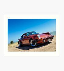 Porsche 930 Turbo Art Print