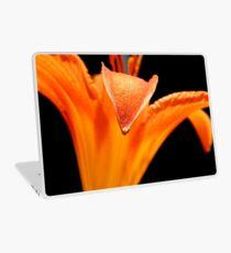 Orange DayLily    ^ Laptop Skin
