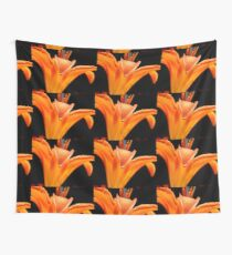 Orange DayLily    ^ Wall Tapestry