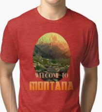 Welcome to Montana Tri-blend T-Shirt