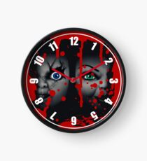 chucky and tiffany Clock