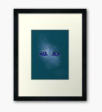 Arrakis blue eyes Framed Print