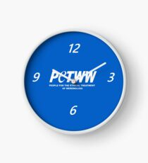 People for the Ethical Treatment of Werewolves Clock