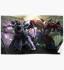 Shen&Zed - Ninja masters Poster