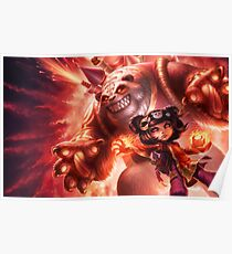 Annie&Tibbers - Fire Poster