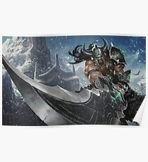 LoL - Tryndamere  Poster