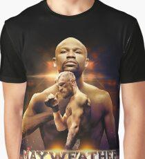 MAYWEATHER VS MCGREGOR POSTER Graphic T-Shirt