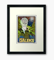 Dr.Who And The Daleks Framed Print