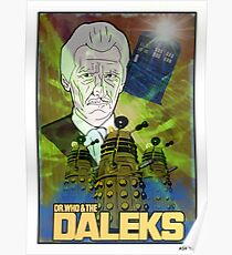 Dr.Who And The Daleks Poster