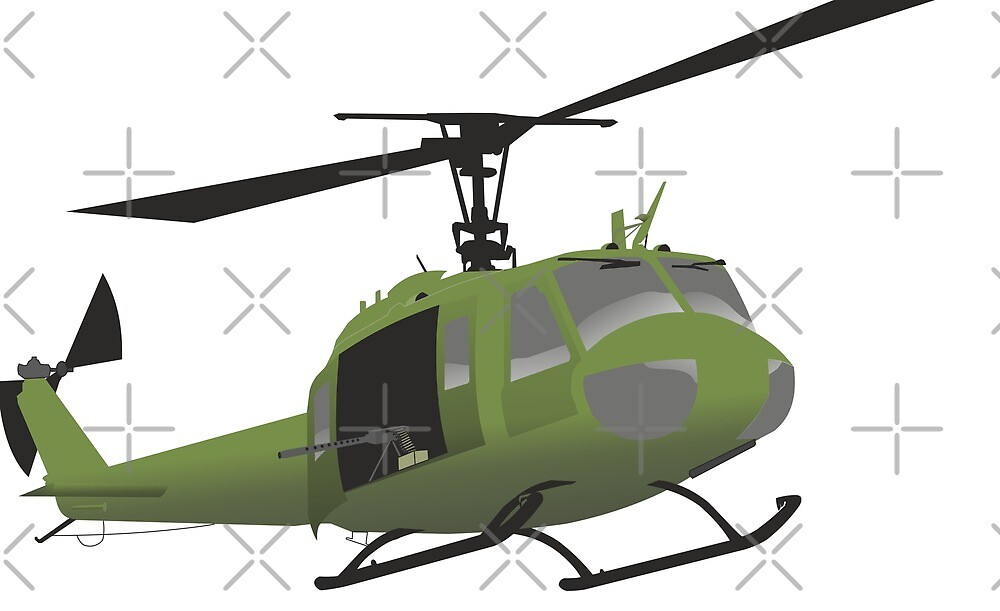 UH-1 Huey helicopter by NorseTech
