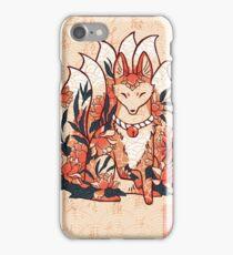 Kistune Ninetails Spirit  iPhone Case/Skin