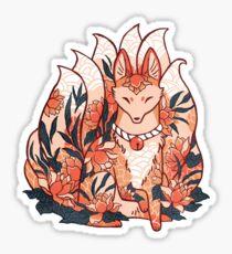 Kistune Ninetails Spirit  Sticker